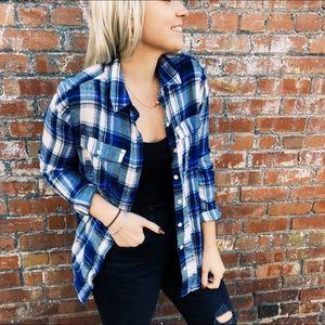 Blue Plaid Flannel Target